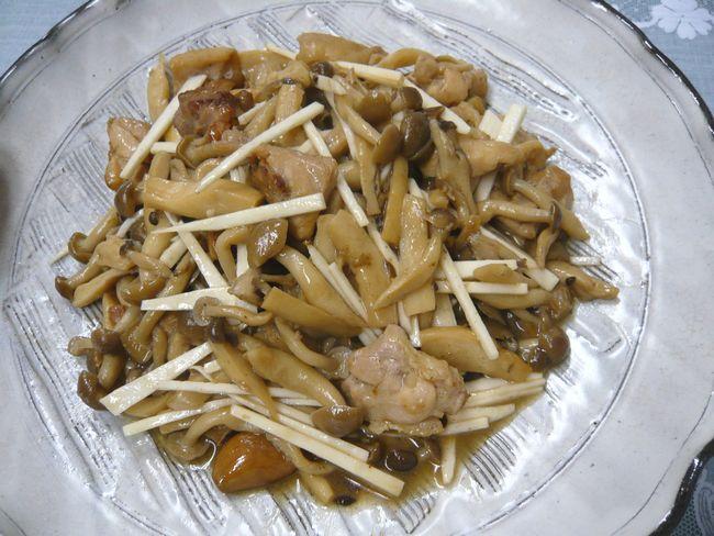 きのこ鶏自然薯ビネガー風味.jpg