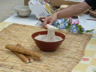 せんチャンち自然薯の粘り.jpg