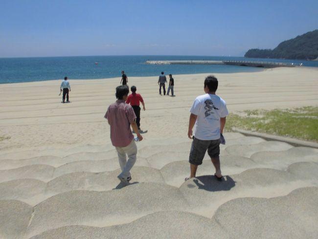 サザンセトビーチへ.jpg