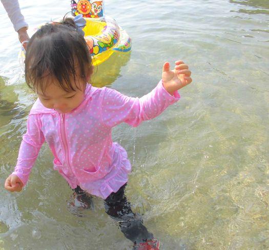 2013夏海での花梨1.jpg