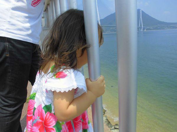 2013年8月花梨と海.jpg