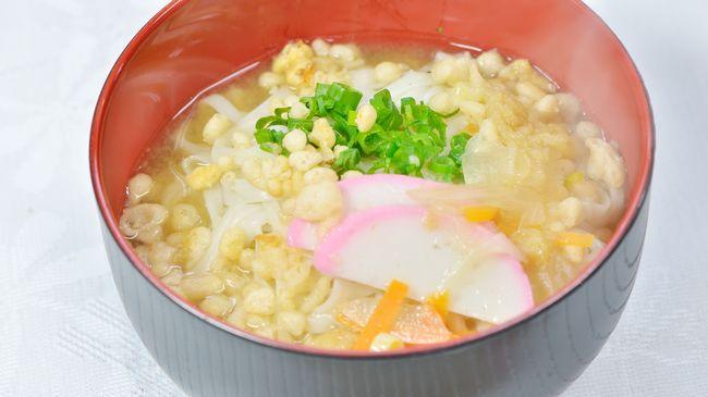 寒い日は自然薯入りうどんで暖かく ♪