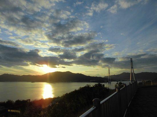 2014年1月多々羅大橋夕暮れ2.jpg