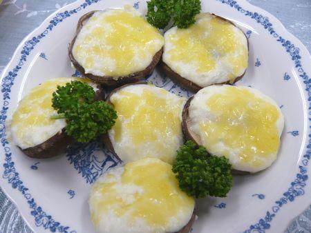 椎茸とろろマヨネーズ焼き ♪~オーブン(トースター)で10分 ♪